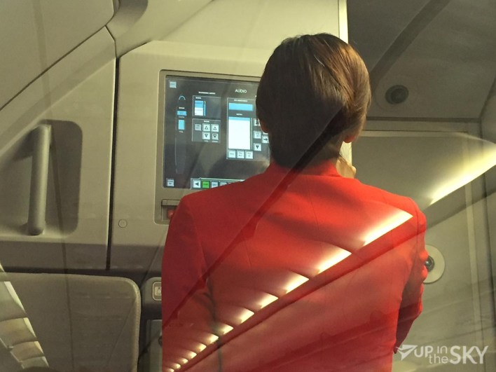 AirAsia flight attendant