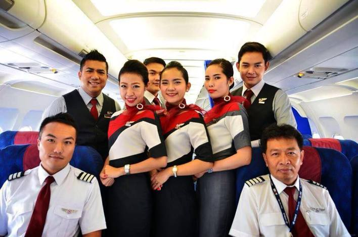 Bassaka Air crew - ©Bassaka Air