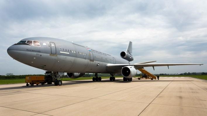 Eén van de KDC-10's van de Koninklijke Luchtmacht (c) Daan van der Heijden