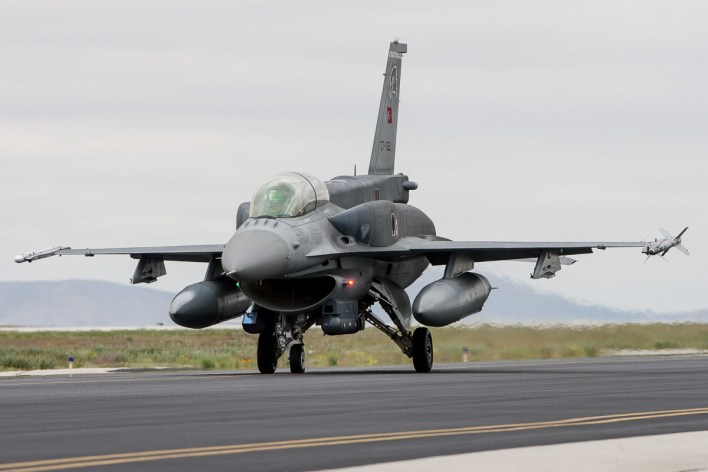 F-16D van de Turkse luchtmacht © Paul Mali