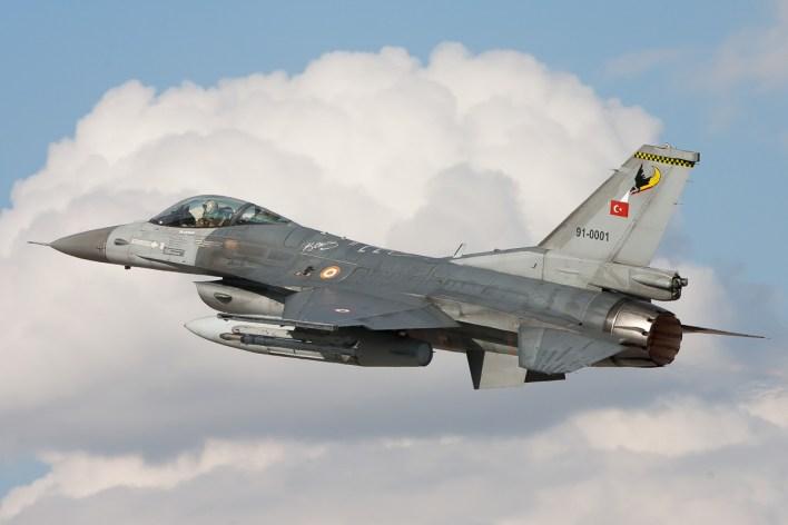 F-16C van de Turkse luchtmacht © Paul Mali