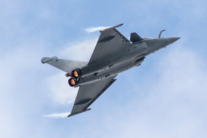 Dassault Rafale van de Franse luchtmacht © Leonard van den Broek