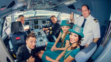 Crew tomorrowlandvlucht