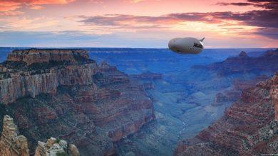 Airlander 10 Grand Canyon CGI