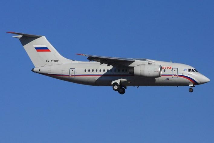 Antonov An148 ©Robin Bamps
