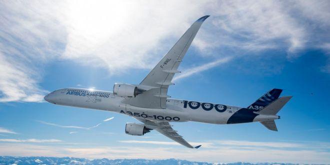 Airbus A350-1000 maakt eerste trans-Atlantische vlucht