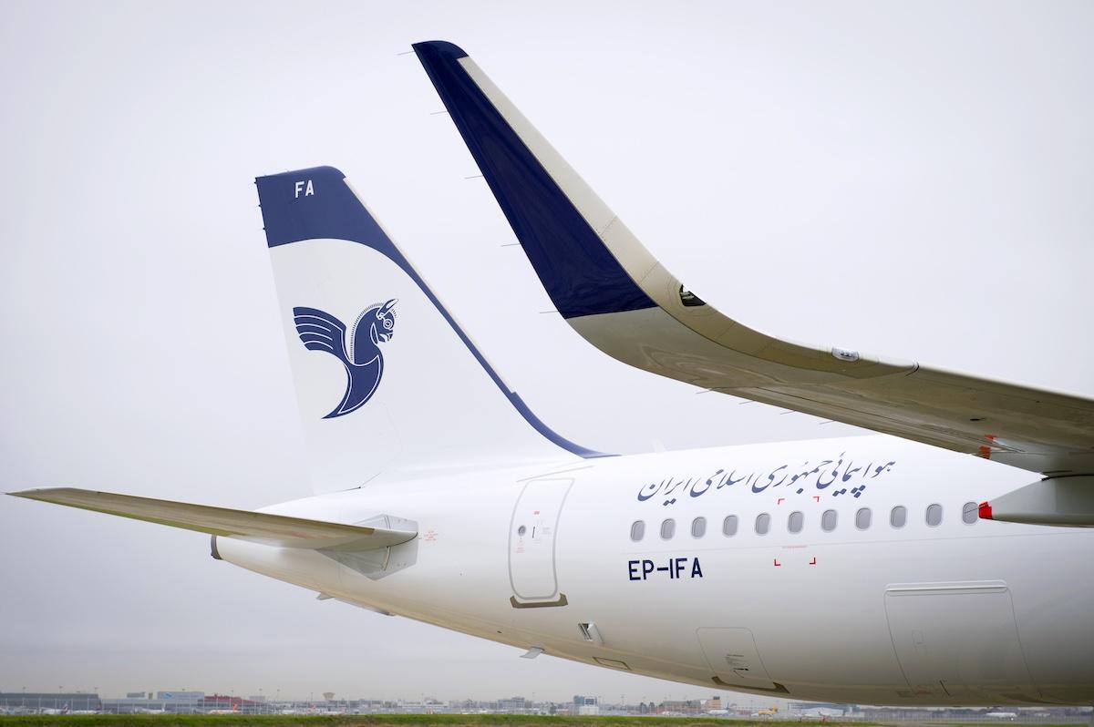 Afleverschema toestellen IranAir bekend