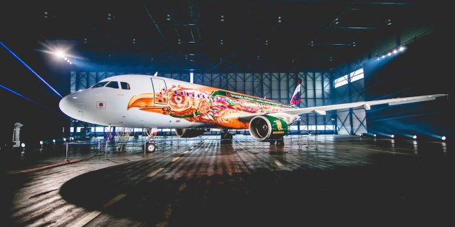 Brussels Airlines onthult Tomorrowland-A320 – video
