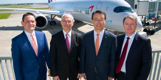 Eerste A350 voor Zuid-Korea