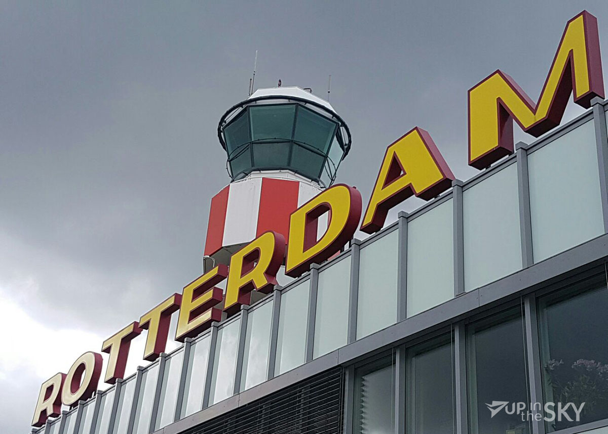 Baan Rotterdam Airport dicht in november