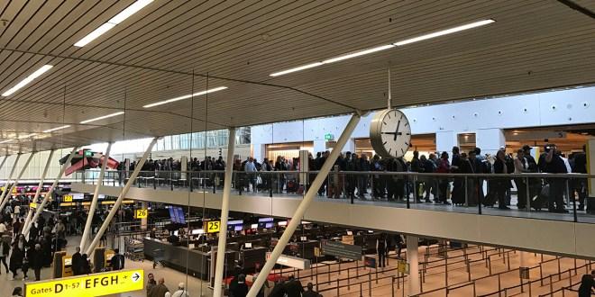 Overzicht: zo wil Schiphol de rijen korter maken