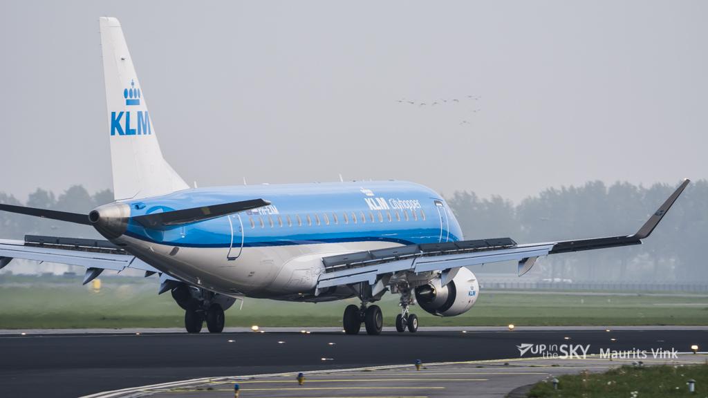 KLM leent 250 miljoen euro voor nieuwe Embraers