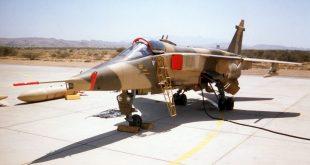Een oude Jaguar van de Omaanse luchtmacht - ©Petebutt/Wikipedia