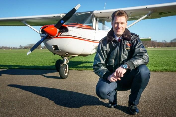 Vlieginstructeur bij de Cessna 152