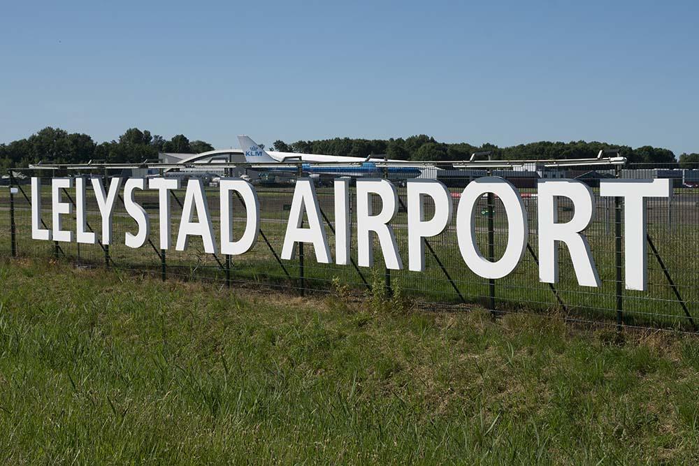 D66-congres: pas groter Lelystad na herindeling luchtruim
