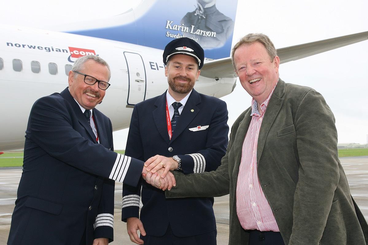 Norwegian zoekt Duitse piloten