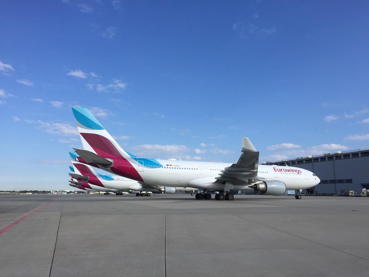 Eurowings stationeert 40 vliegtuigen op Düsseldorf