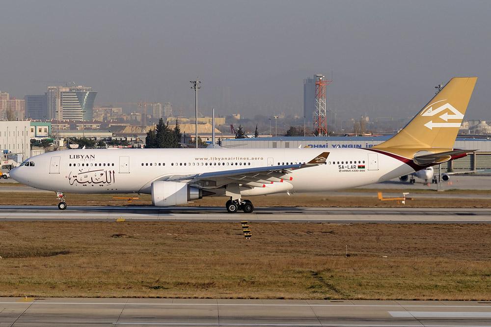 Libische A330 beschadigd na geweervuur Tripoli