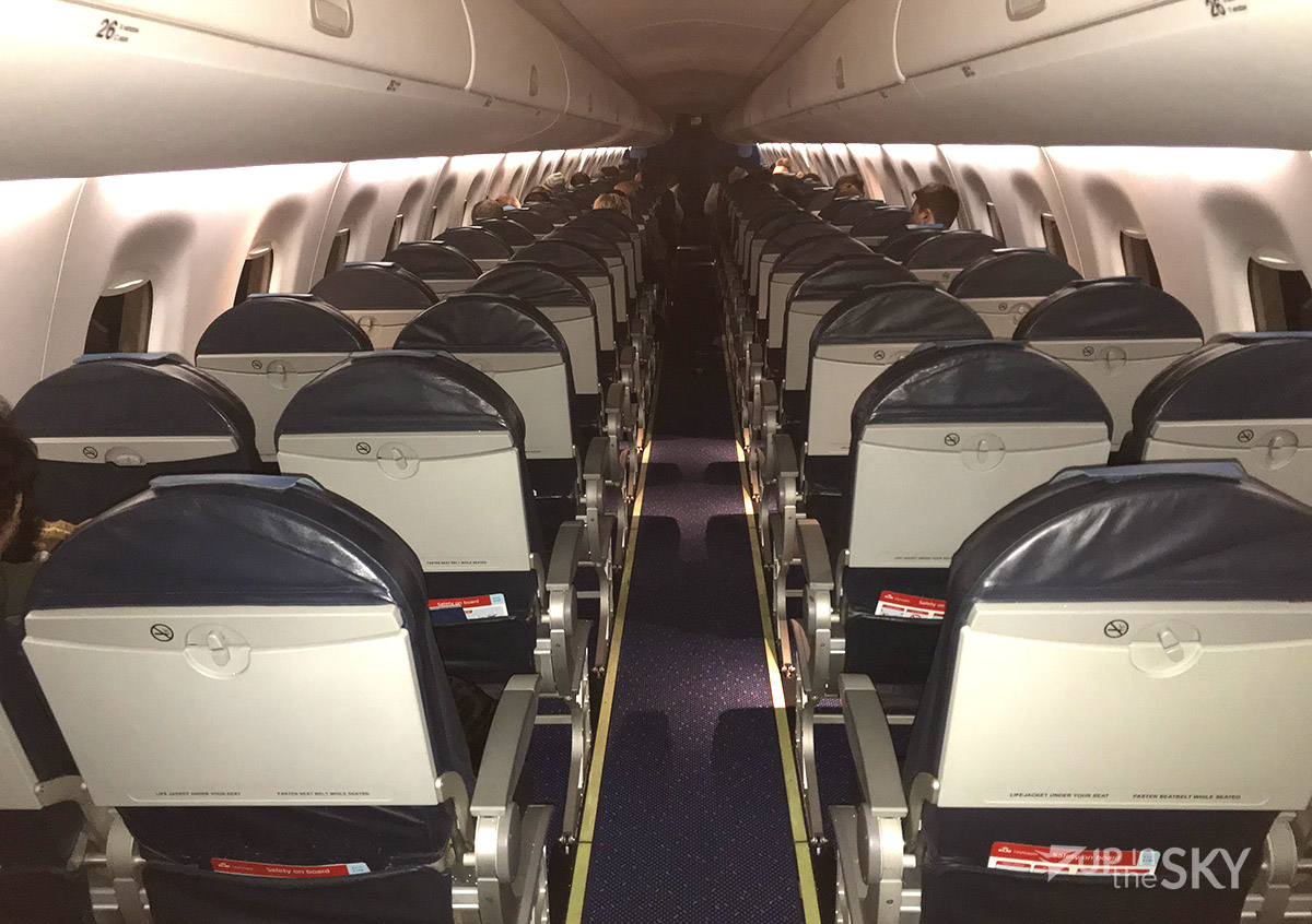 Flight review: KLM Embraer 190 economyclass