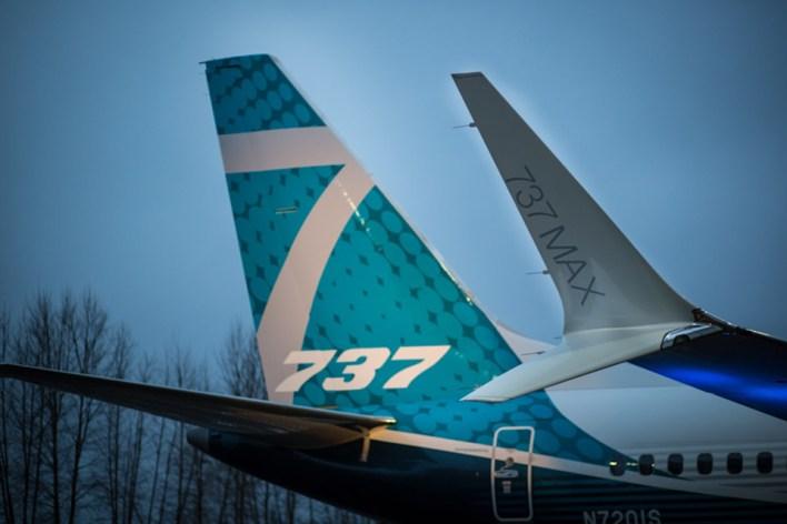 737 Max 7 - ©Boeing