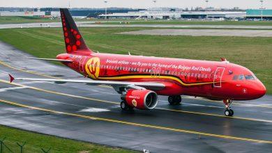 Trident, het vliegtuig van de Rode Duivels - ©Brussels Airlines