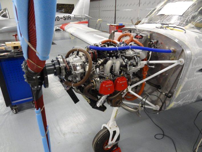 Sonaca 200 met Rotax 914 motor, © UpintheSky