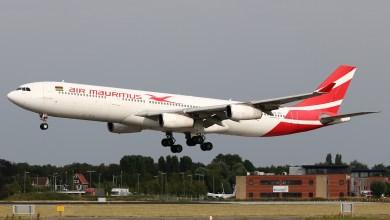Airbus A340 van Air Mauritius