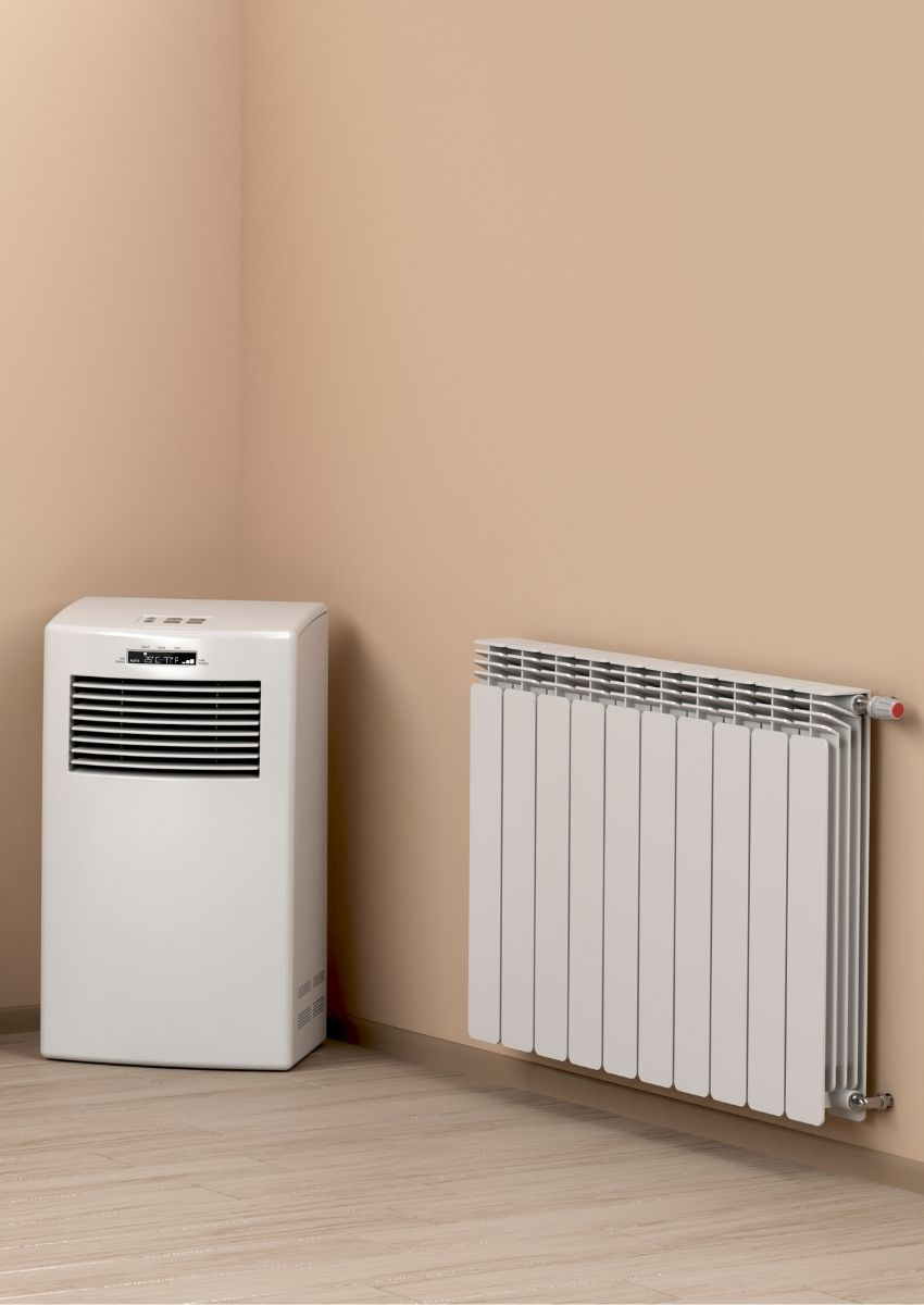 Local electric heater install