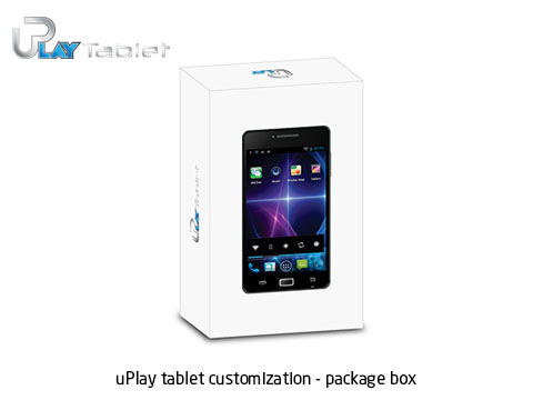 uPlay tablet customization package box