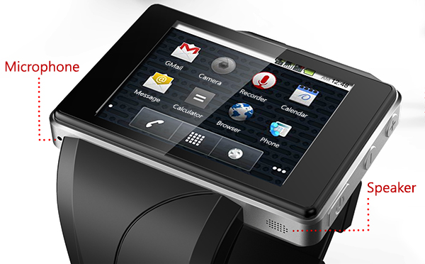 Android Smart Watch Phone Z2