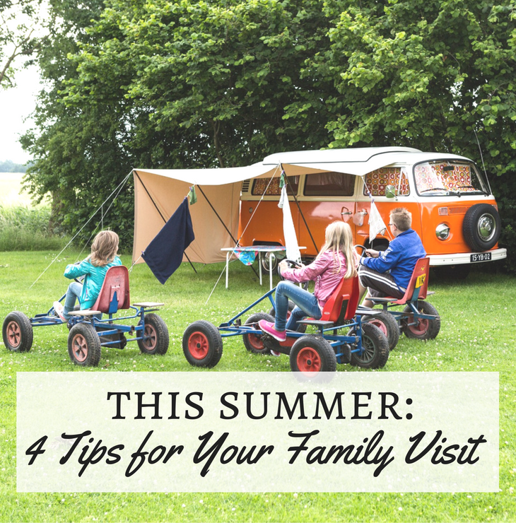 4 tips for your family visit