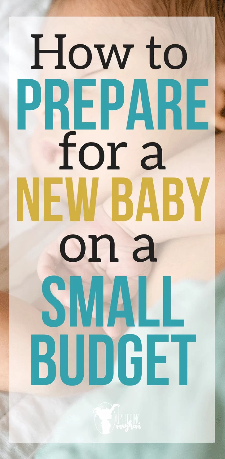Where do you start when you need a budget for a new baby? Great tips to guide you on budgeting and saving money for your new baby!