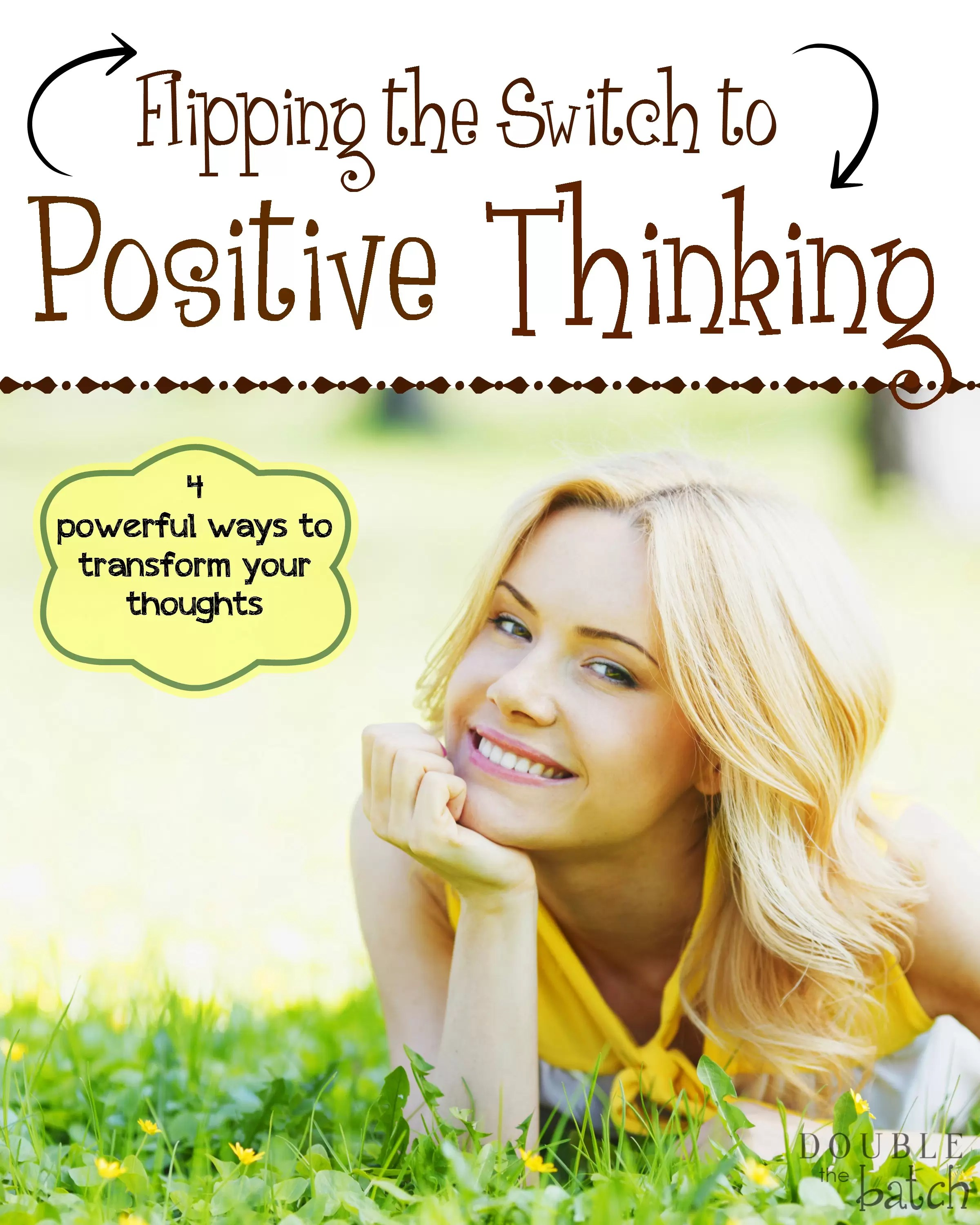 How To Get Rid Of Negative Thoughts Flipping The Switch