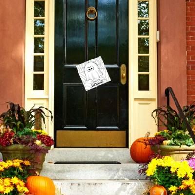 Boo Your Neighbors-Halloween Printables