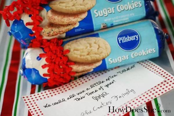 sugar cookies gift