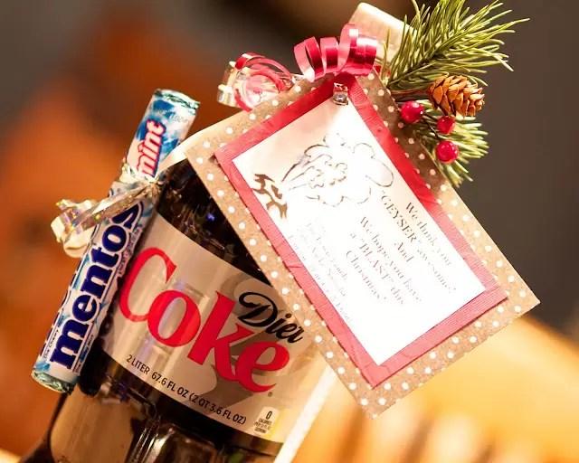"Diet Coke ""Geyser"" Giftby FLIPZLES"