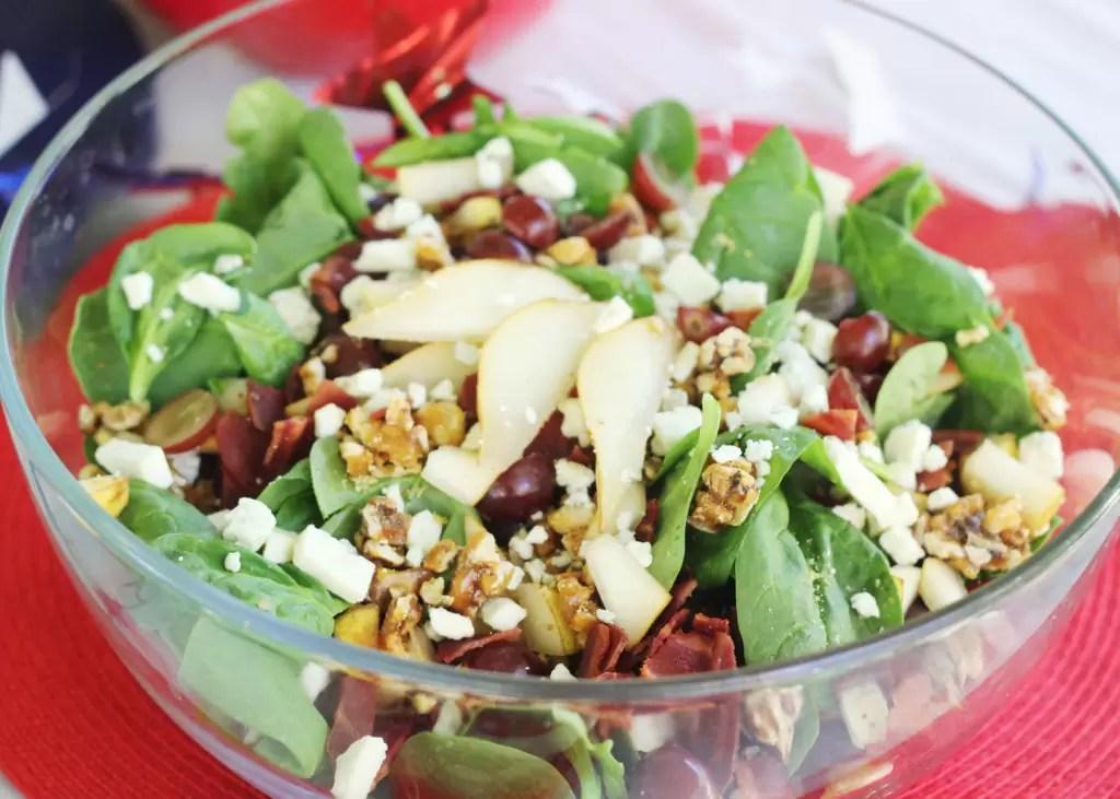 Pear-Gorgonzala-Salad