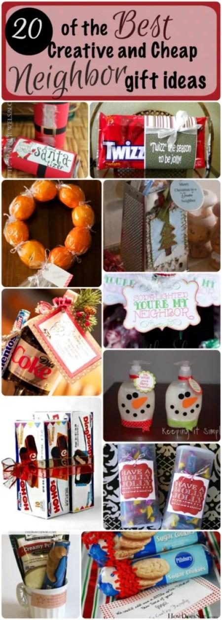 Cheap neighbour gift ideas