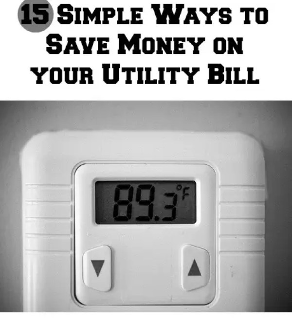 Ways to Save Money on Your Utility Bill