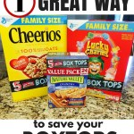 1 Great Way to Save Box Tops