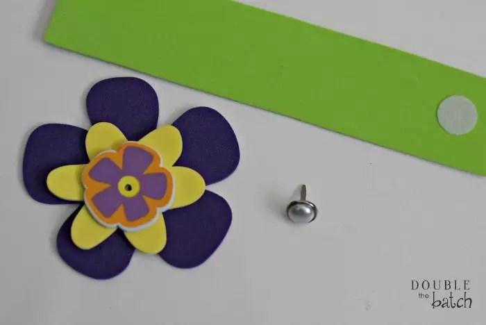 DIY foam bracelets for kids