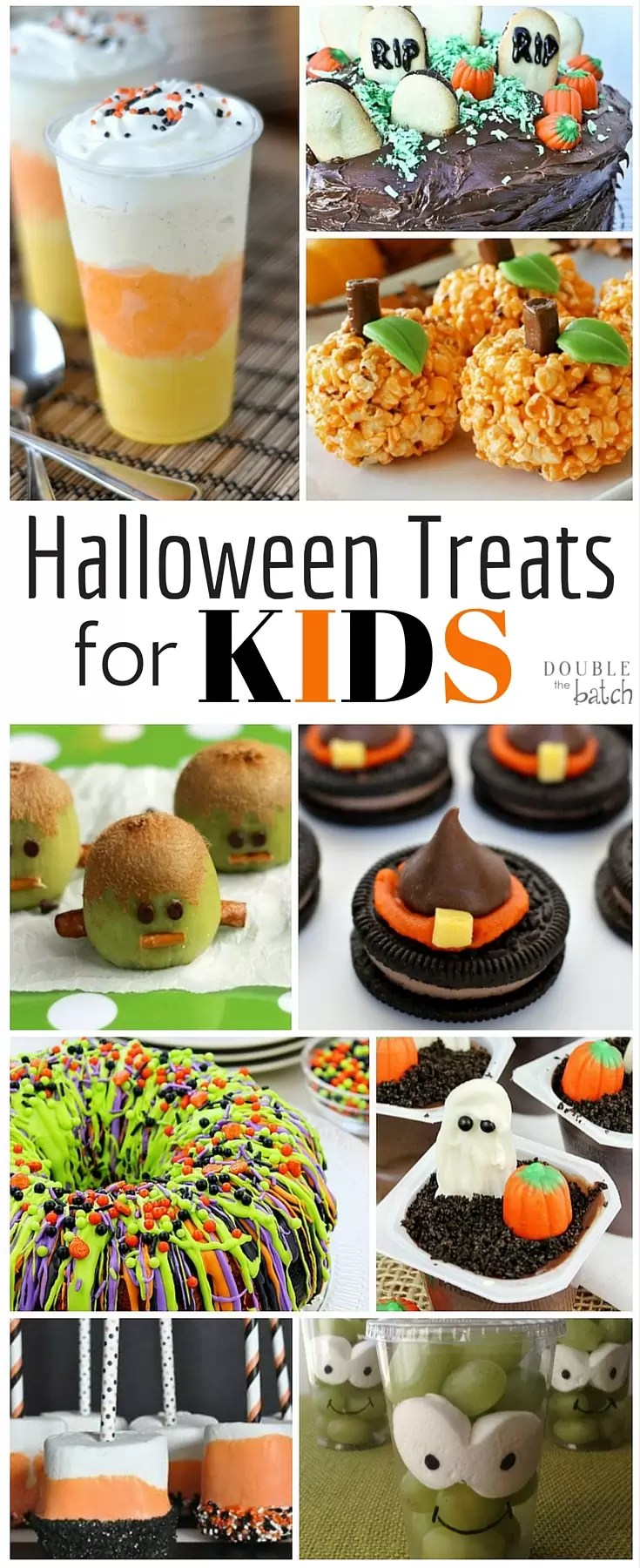 These Halloween Treats for Kids look like SOO much fun! Who says I have to wait till Halloween?