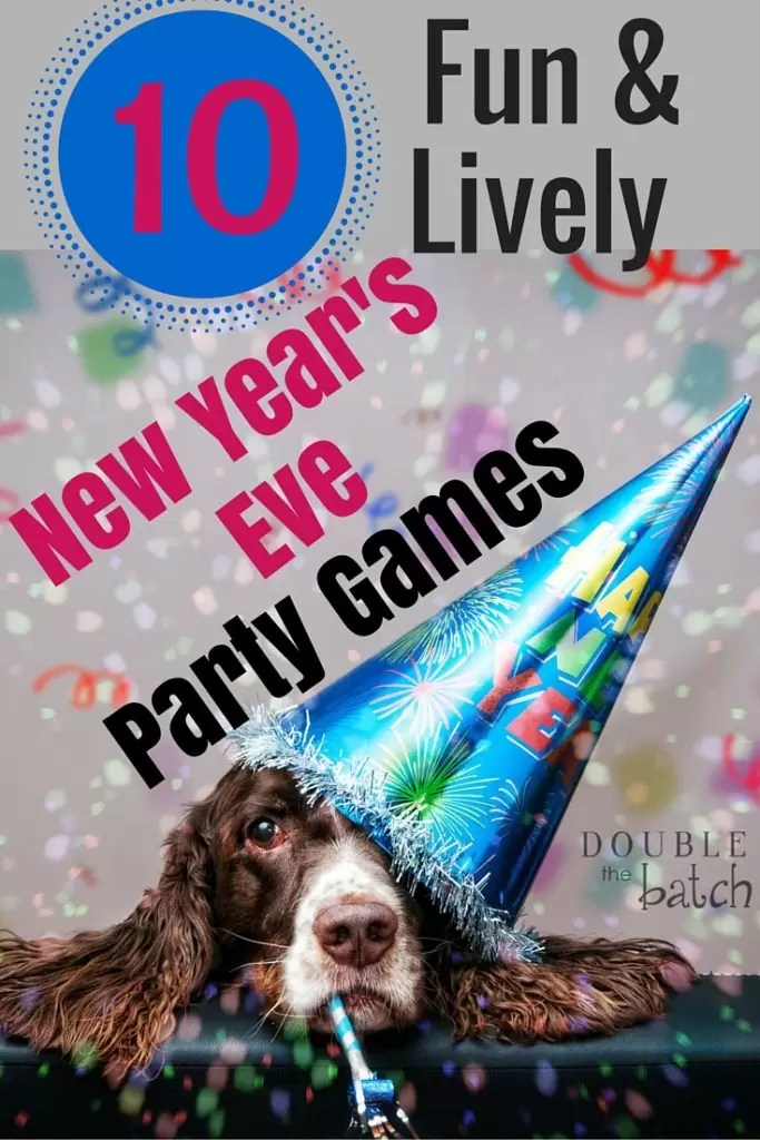 10 New Year's Eve party games to keep everyone awake until it is time to ring in the New Year.
