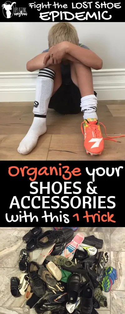 Organize your shoes and accessories!