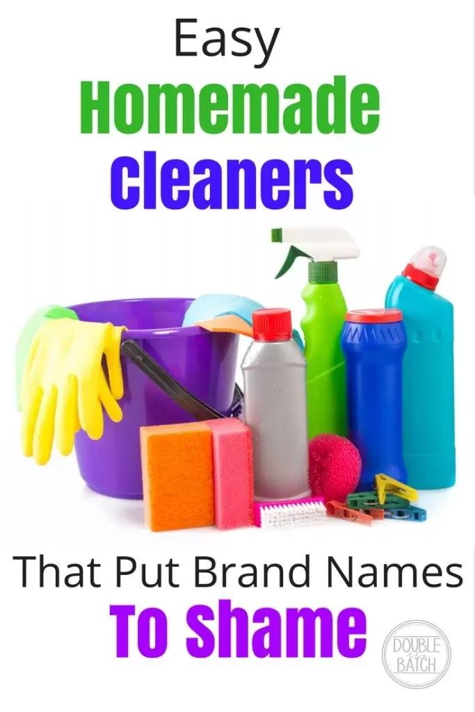 It's all there in your cupboard. Easy Homemade Cleaners