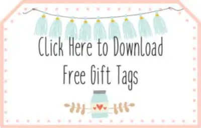 Newlyweds gift basket ideas with free printable gift tags click above to download your free printable gift tags once downloaded you will see that there is a blank negle Gallery