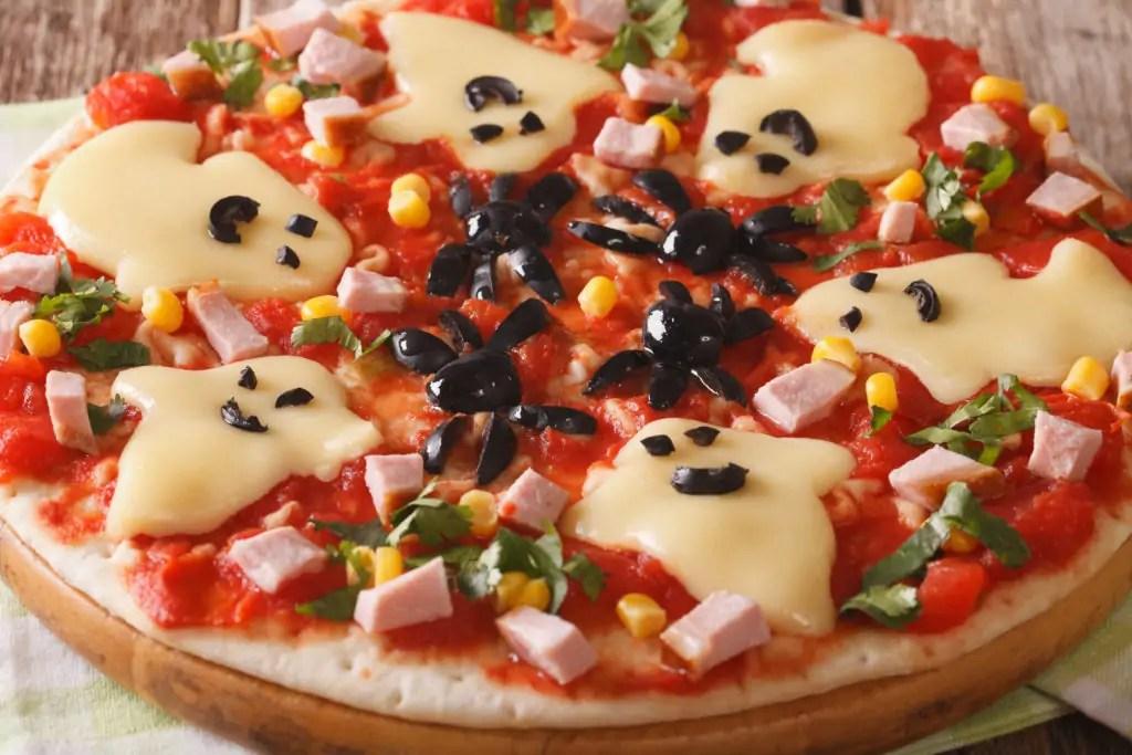 Super Simple Halloween Pizza - Uplifting Mayhem