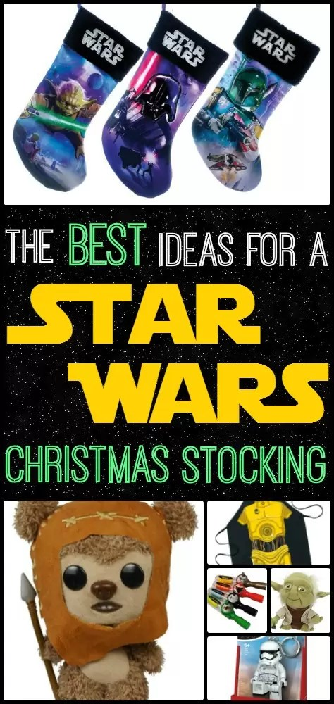 My husband would love this Star Wars themed christmas stocking!