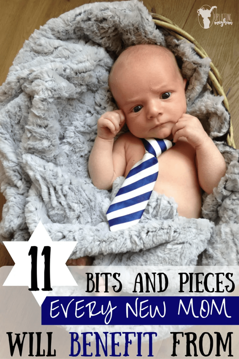 11 Bit and Pieces that will benefit Every New Mom!