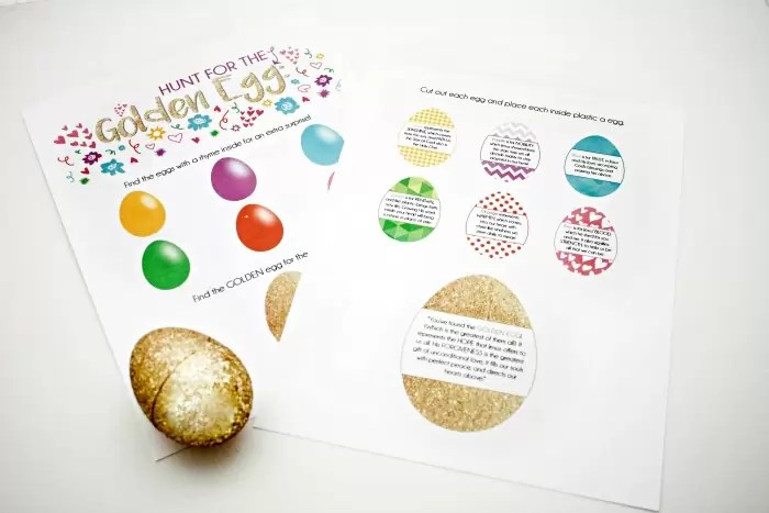 A fun egg hunt with a meaningful theme
